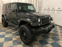 CARFAX One-Owner. Black Clearcoat 2015 Jeep Wrangler