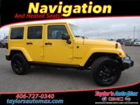LEATHER INTERIOR, Wrangler Unlimited Sahara, 4D Sport