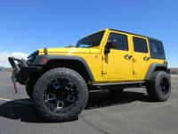 2015 Jeep Wrangler JK Unlimited 4X4 with Sport trim...