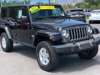 CARFAX One-Owner. Clean CARFAX. 2015 Jeep Wrangler 4WD