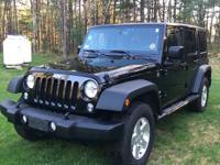 2015 Jeep Wrangler Unlimited Sport 4 Door, 4x4,