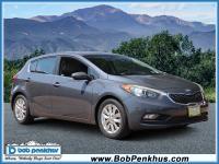 Meet our 2015 KIA Forte EX Sedan in stunning Gray.