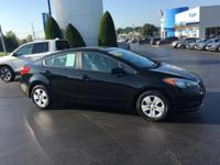 CARFAX One-Owner. Clean CARFAX. 2015 Kia Forte LX FWD