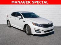 2015 Kia Optima EX Snow White Pearl Leather, ONLY