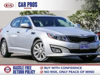 Sparkling Silver Optima EX FWD 6-Speed Automatic with