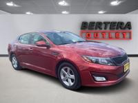 2015 Kia Optima Remington Red Metallic LX Rear Backup