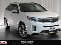 This 2015 Kia Sorento SX Limited is a One Owner vehicle
