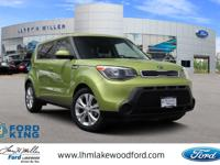 Climb inside the 2015 Kia Soul! Demonstrating that