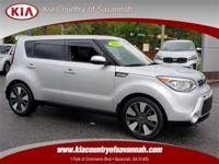 Bright Silver 2015 Kia Soul Exclaim FWD 6-Speed