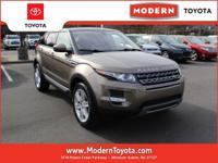 LOW MILES, This 2015 Land Rover Range Rover Evoque Pure