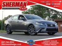 CARFAX One-Owner. Nebula Gray Pearl 2015 Lexus GS 350