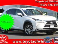 Must See this nice and clean low mile 2015 Lexus NX