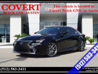 This Lexus RC 350 has a powerful Premium Unleaded V-6