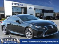 CARFAX One-Owner. Black 2015 Lexus RC 350 RWD 8-Speed