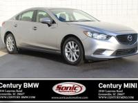 This 2015 Mazda6 I Sport has a clean carfax and a