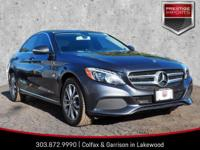 Steel Gray Metallic 2015 Mercedes-Benz C-Class C 300