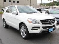 Look at this 2015 Mercedes-Benz M-Class ML 350. Its
