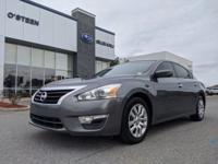 Check out this gently-used 2015 Nissan Altima we
