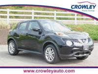 2015 Nissan Juke S in Super Black AWD. Located at