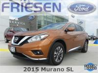 Pacific Sunset Metallic 2015 Nissan Murano SL Clean