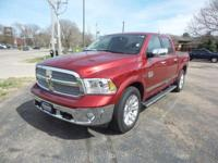 19/27 City/Highway MPG Red 2015 Ram 1500 Laramie