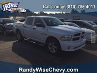 Bright White Clearcoat 2015 Ram 1500 Express 4WD