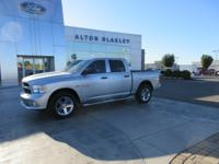 Bright Silver Clearcoat Metallic 2015 Ram 1500 Express