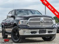 2015 Brilliant Black Crystal Pearlcoat Ram 1500 Laramie