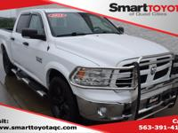 Bright White Clearcoat 2015 Ram 1500 Outdoorsman 4WD