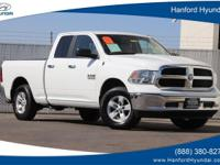 New Price! Bright White Clearcoat 2015 Ram 1500 SLT RWD