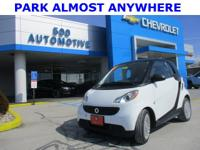 Crystal White 2015 smart Fortwo Passion RWD 5 Speed