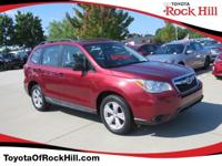 We are excited to offer this 2015 Subaru Forester. How