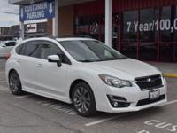 Take command of the road in the 2015 Subaru Impreza!