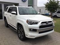 One Owner Blizzard Pearl 2015 Toyota 4Runner Limited