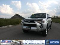Silver 2015 Toyota 4Runner SR5 4WD 5-Speed Automatic