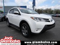 2015 TOYOTA RAV4 XLE ....... ONE LOCAL OWNER ......
