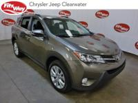 Bronze 2015 Toyota RAV4 Limited FWD 6-Speed Automatic