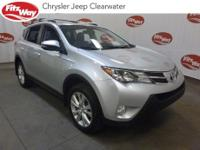 Silver 2015 Toyota RAV4 Limited FWD 6-Speed Automatic