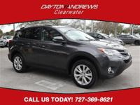 Clean CARFAX. This 2015 Toyota RAV4 Limited in Magnetic