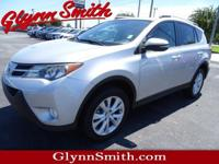 This 2015 Toyota RAV4 Limited is complete with