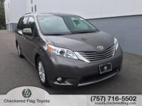 CARFAX One-Owner. Clean CARFAX. 2015 Toyota Sienna XLE