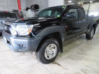 New Price! Black 2015 Toyota Tacoma 4WD 4-Speed