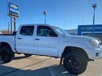 Super White 2015 Toyota Tacoma 4WD 5-Speed Automatic