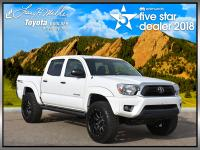 ONLY 41,588 Miles! Tacoma trim, SUPER WHITE exterior
