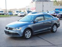 Gray 2015 Volkswagen Jetta FWD 6-Speed Automatic with