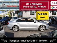Navigation - Moonroof - Heated Front Seats - BackUp