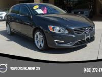 Savile Gray Metallic 2015 Volvo V60 FWD with only 54684