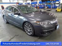 BACKUP CAMERA!! HEATED SEATS!!! This 2016 TLX is a one