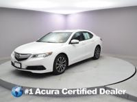 Certified. 2016 Acura TLX 3.5L V6 Priced below KBB Fair