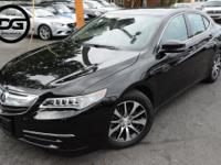 Crystal Black Pearl 2016 Acura TLX 2.4L with Technology